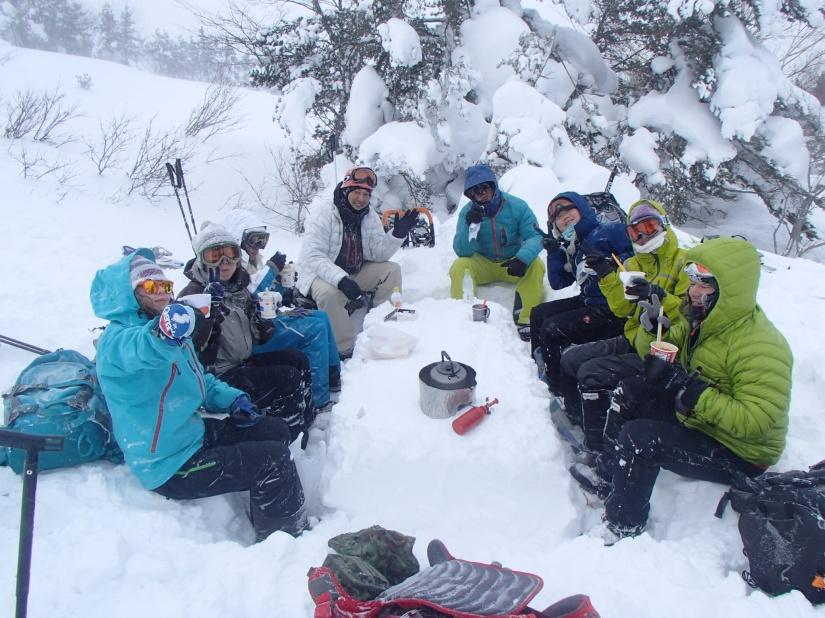 2015 1月10日(土) スノーシュートレッキングツアー≪不帰の滝≫