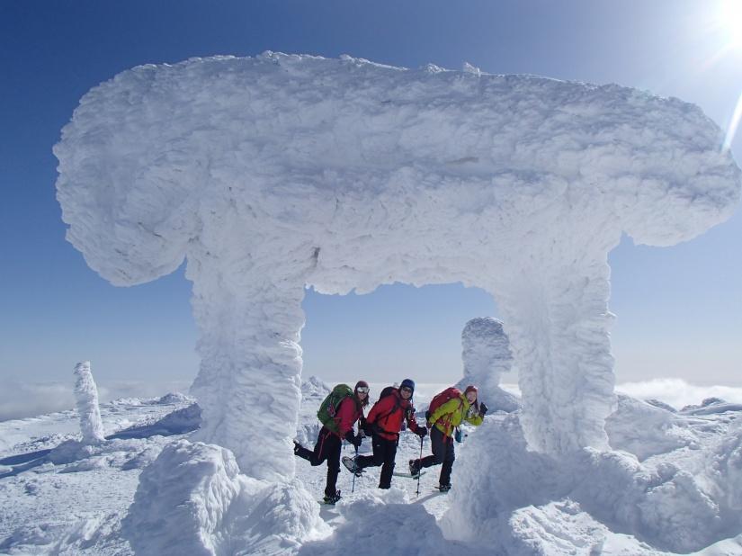 2015 2月21日(土) 貸切スノーシュートレッキングツアー≪極上の蔵王・刈田岳≫