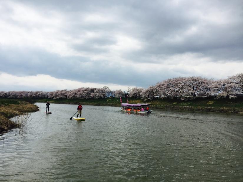 桜!!お花見SUP Vol.1