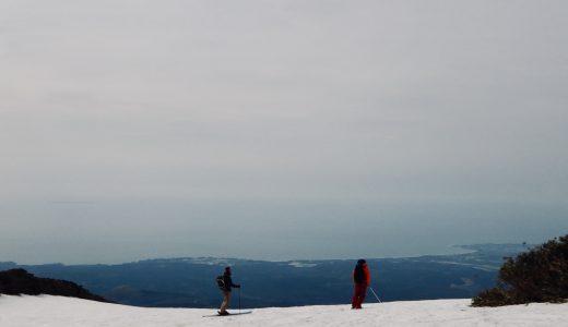 滑り納め!?鳥海山BCツアー