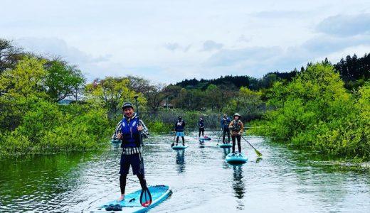 花山湖新緑SUP Day2