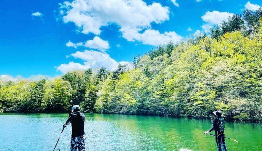 七ヶ宿湖SUP