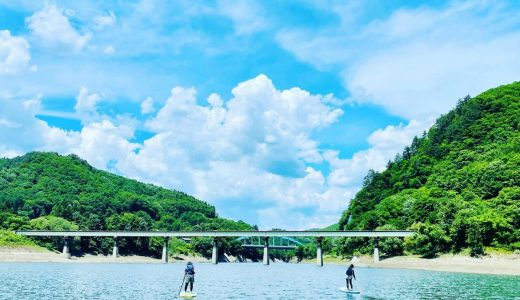 錦秋湖SUP